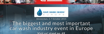 Car Wash Show Europe, Amsterdam 5-7 October 2015